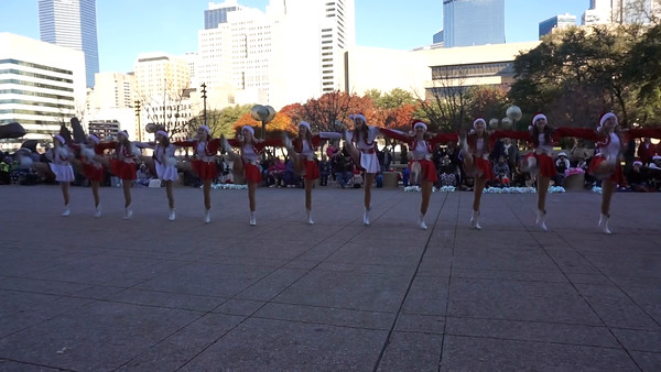 Dallas children's health Christmas parade